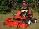 Kubota F Series 3680 with mower