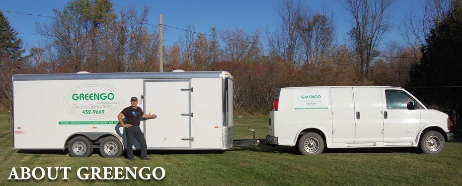 About greengo grass grooming burnstown ontario and area for Garden maintenance van